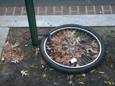 大事な自転車を盗まれないため ...