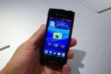 Xperia最新モデルのコンパクトな女性向けスマートフォン「Xperia ray SO-03C」を写真と動画で詳しく紹介【レポート】