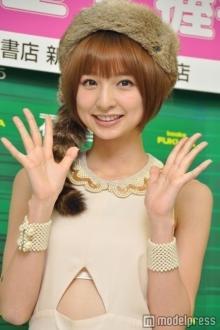 篠田麻里子、長谷川潤・藤井リナに続き「Girls Award」トップバッターに決定