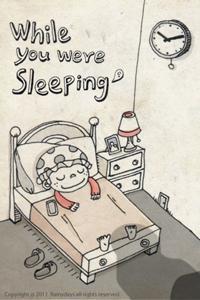 誰かがいる...? 恐怖の事実も判明するiPhoneアプリ「あなたが寝ている間に」