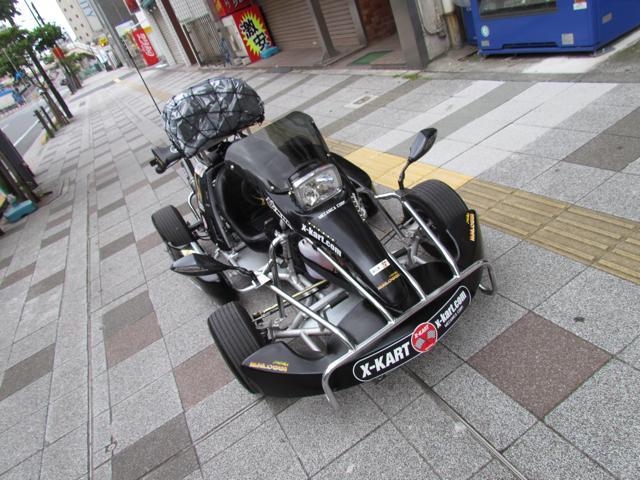 50ccのカート車で北海道を目指します!【X,Kart@札幌