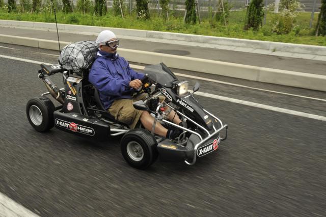 50cc原チャリカートX,Kartで東京→仙台380kmを走ってみた