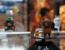 「ワンフェス2012夏」LINEスタンプ、onちゃん、ニャンコ先生など人気者勢ぞろい! ~キャラクターグッズ編~