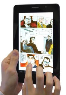 eBookJapanがマンガ好きのためのオリジナルタブレット端末を発売