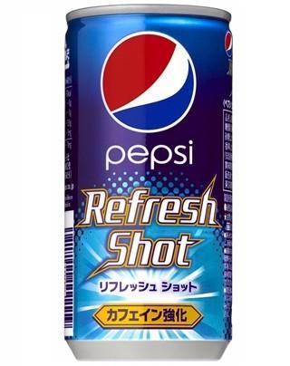 ペプシから甘さ強めカフェイン多めのコーラ「リフレッシュ ...