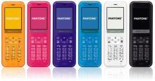ウィルコム、スマホ連携機能を持つストレートモデルPHS「PANTONE」(WX03SH)発売
