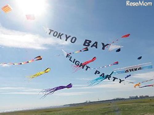 スポーツカイト全国大会、10/19-20葛西海浜公園…凧つくり教室も