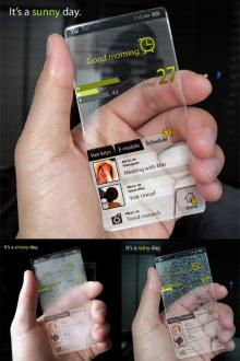 【透明?折れる?】超ユニークな近未来の携帯電話と最新のスマホ利用って?