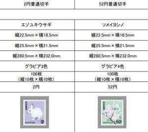 日本郵便「52円切手」などのデザイン発表 ヤマセミの80円切手は販売終了へ