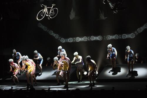 舞台で自転車!? 『弱虫ペダル ...