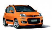 鮮やかなオレンジのフィアット・パンダ限定車が登場