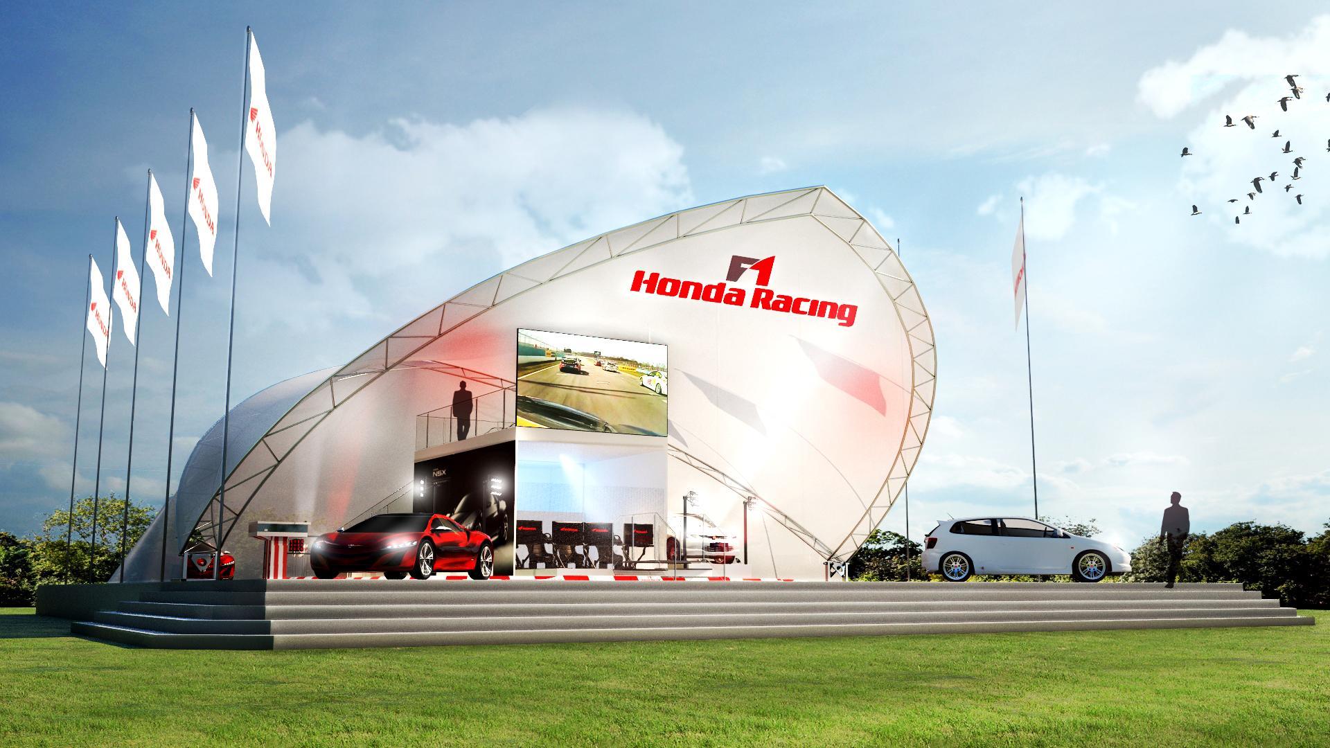 新型NSXとシビック・タイプR、ホンダUK2014年グッドウッドで発表