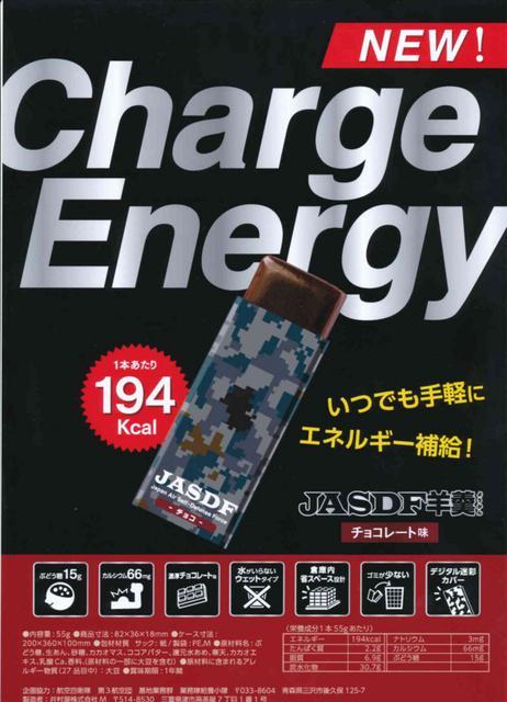 航空自衛隊と井村屋がコラボした栄養補助食品「JASDF羊羹」 味は濃厚チョコレート