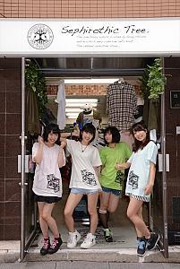 木嶋のりこプロデュースのアイドル9-Bit報道部がオリジナルTシャツを発売! 初日完売の人気!
