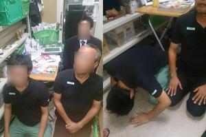 客がファミマ店内で暴れ店員ブチギレ 客が逆ギレし店員を土下座させ金銭要求 動画撮影しTwitterに写真掲載で大炎上