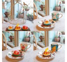 東京都・池袋に執事喫茶が作ったことりカフェ監修のインコケーキが登場