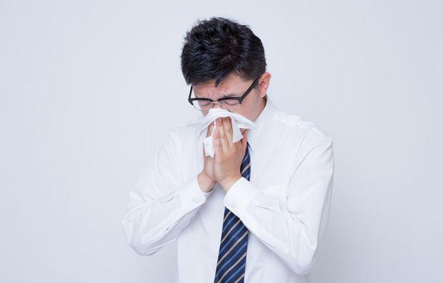 鼻水の色で健康状態を知る