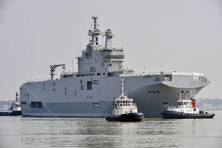仏軍艦輸入断念=代替艦を独自開発へ-ロシア