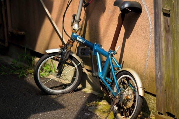... 補助輪なし自転車をマスターで