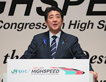 新幹線輸出に意欲 安倍首相