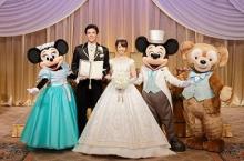 ディズニーホテルミラコスタ、ダッフィーがお祝いしてくれる結婚プラン開始
