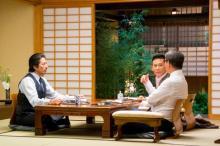 真田広之、中井貴一 、柳沢慎吾の50代トリオがCM共演 アドリブ全開の台詞回しに注目