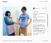 川村エミコ 「龍馬伝」子役の濱田龍臣と2ショット公開