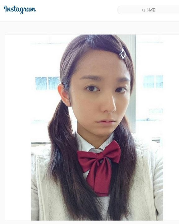 木村文乃 サイレーンのツインテ女子高生姿公開し感謝