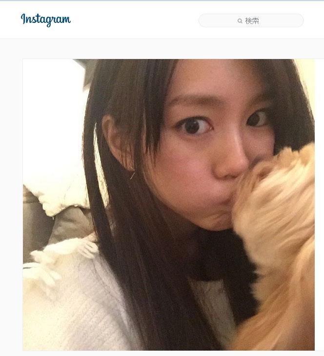 桐谷美玲 愛犬からキスされる写真公開しいいね2.5万超