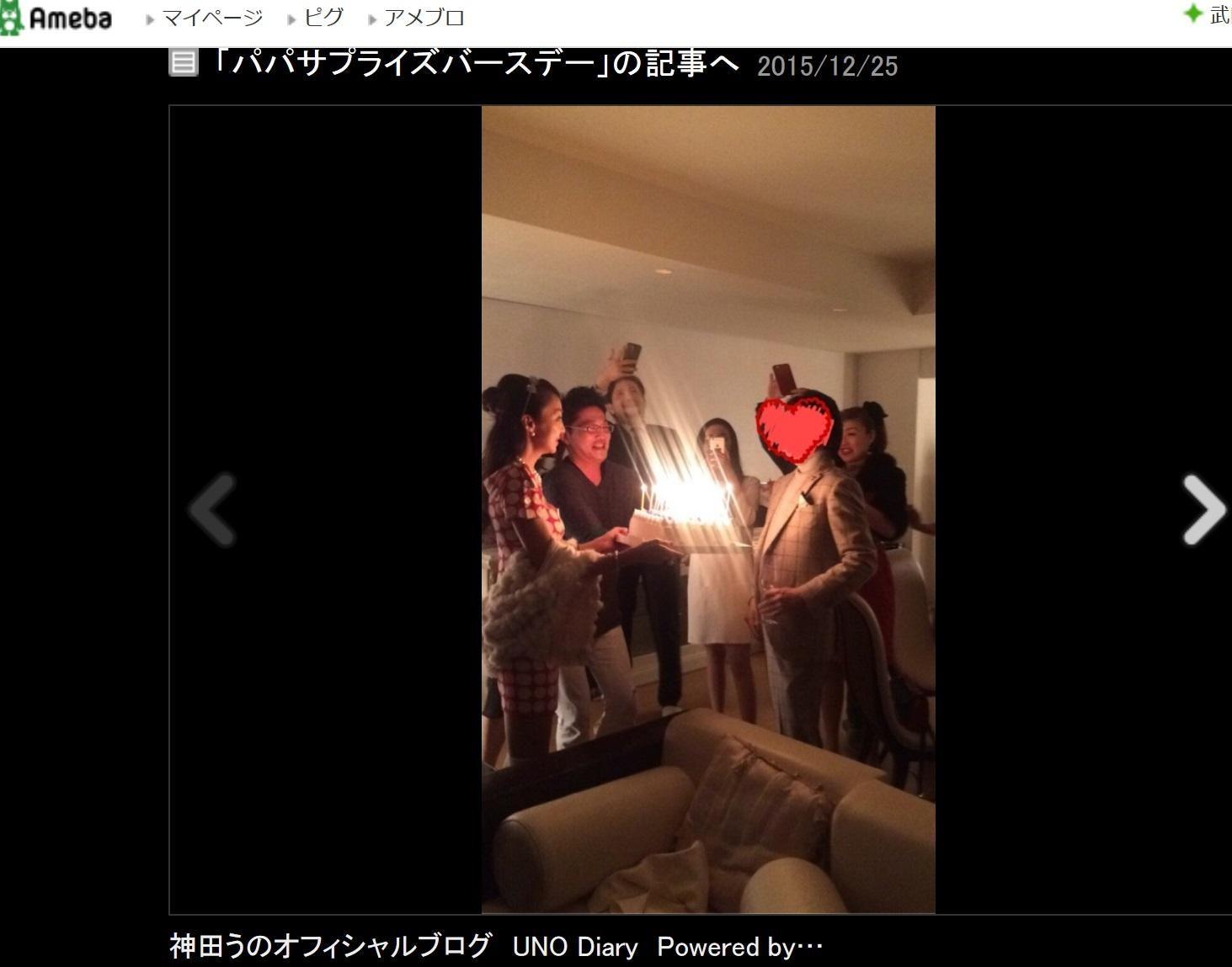神田うの 誕生日に大量ロウソクで「火事になりそう」