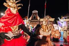 まるでヴェネツィア!本場の仮面舞踏会カーニバルがハウステンボスに出現