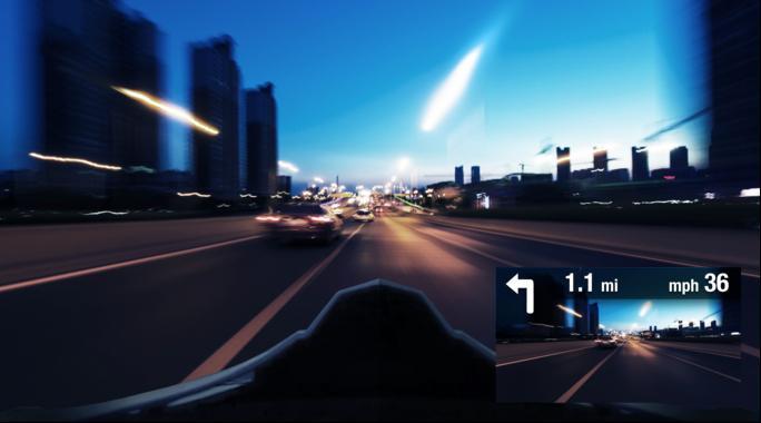 ライダーよ、360度の視界を手に入れろ!HUD機能をもつ次世代ヘルメット「SKULLY」