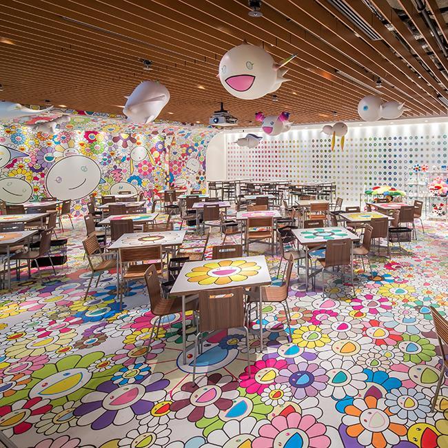 あのアートが食べられる!?六本木ヒルズ×「村上隆のお花カフェ」は、1月31日まで!