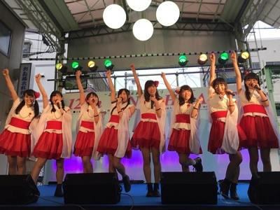 陣内智則の姪も所属、兵庫県ご当地アイドル・KRD8が震災復興ライブに出演「兵庫を盛り上げたい!」