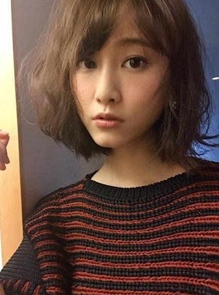 松井玲奈 昨年髪をバッサリ切った理由をブログで初報告