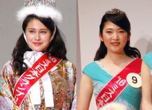 ミス日本2016、2世が活躍 GPに松野未佳さん、「ミス着物」に織茂璃穏さん