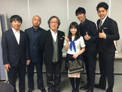 橋本環奈 17歳誕生日に初主演映画の完成披露試写会で「幸せ者」