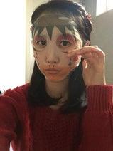 松井玲奈 ドラマで登場した泣き虫河童のパック姿公開