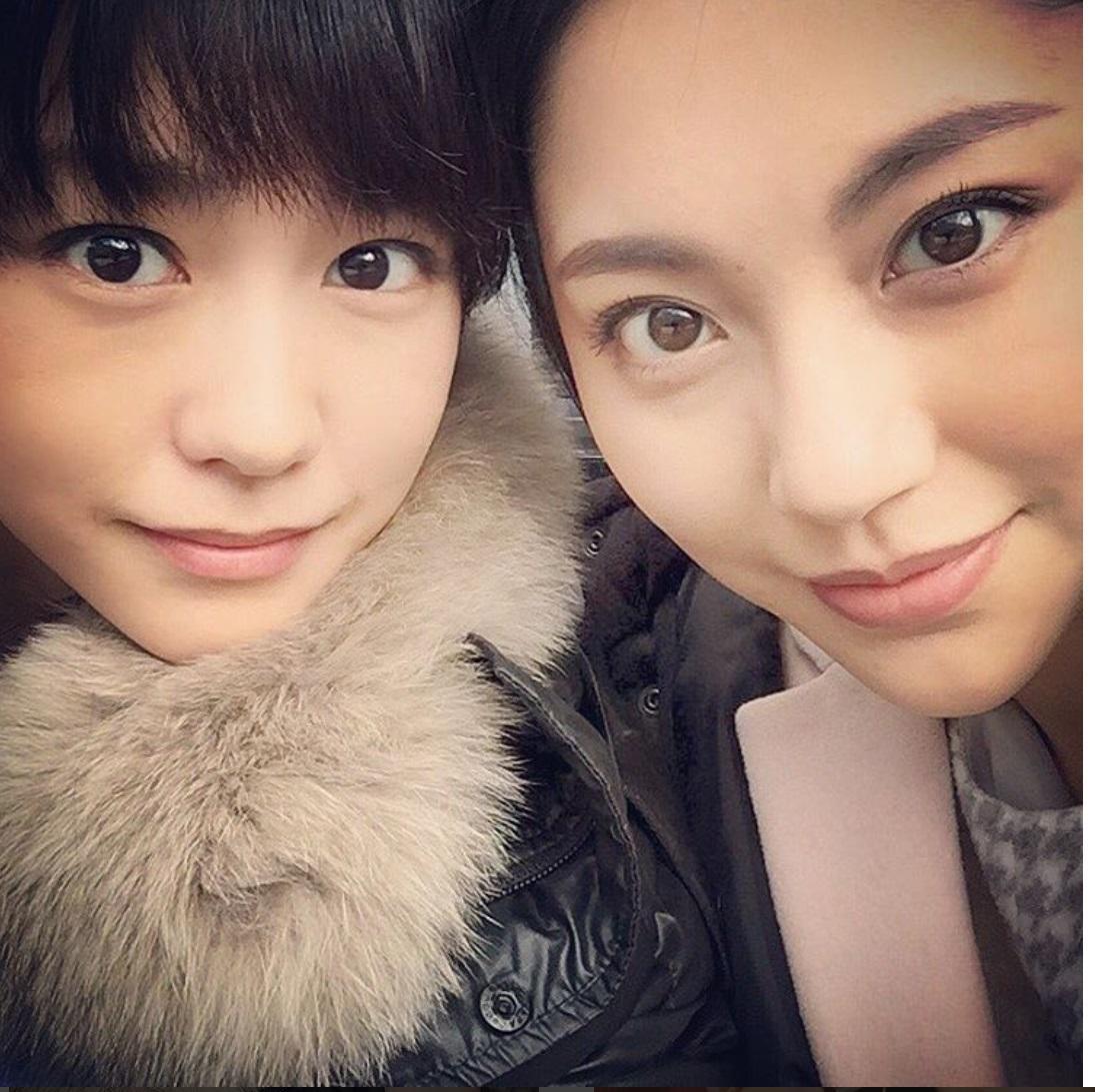 桐谷美玲 水沢エレナとの「美女のドアップ」写真公開