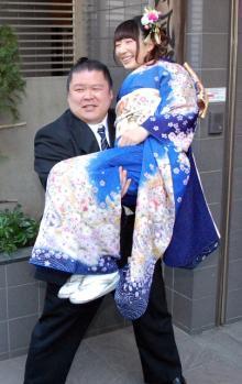小泉エリ、安治川親方と結婚へ 7年交際隠し「やっと堂々とできる」