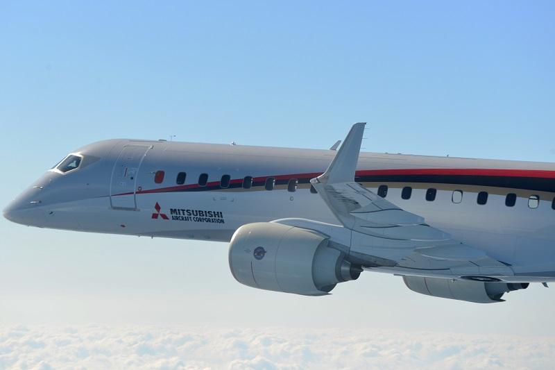 三菱航空機、MRJ飛行試験再開 今年はワシントン州でも実施
