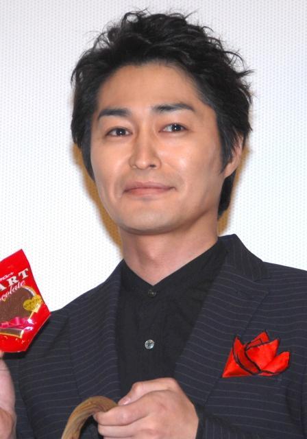 安田顕、チョコで報道陣にゴマすり「この意味わかりますよね?」