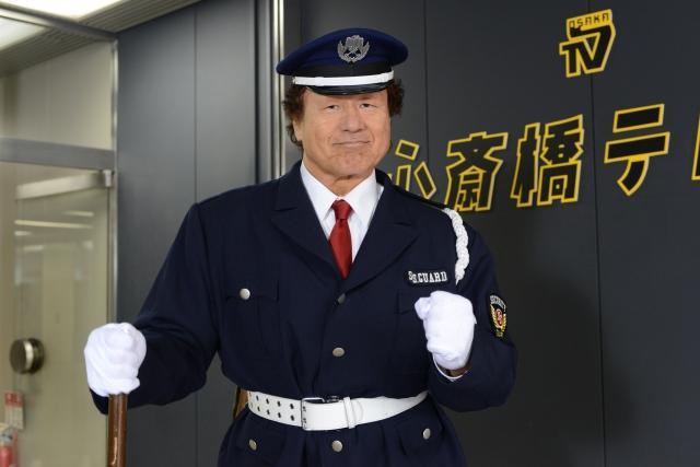 天龍源一郎、警備員役でドラマ初出演「10文字以上のセリフはダメ」