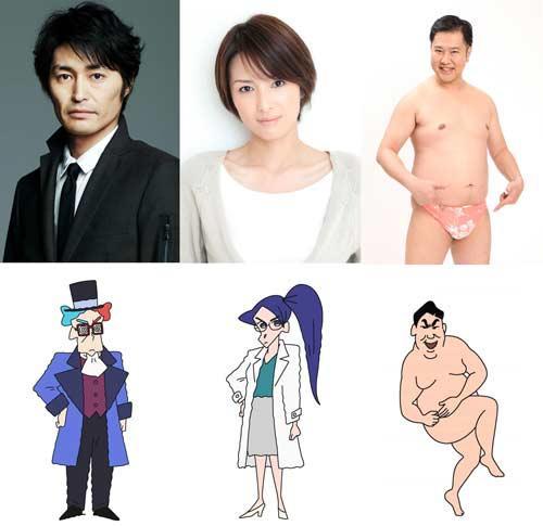 安田顕、とにかく明るい安村らが『クレヨンしんちゃん』ゲスト声優に!