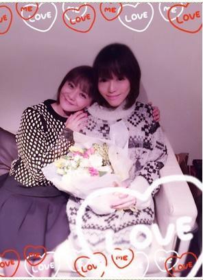 釈由美子 華原朋美との2ショット公開「似ている部分感じる」