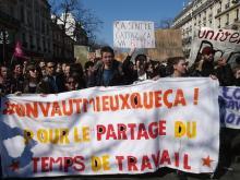 労働法改正めぐり混乱=学生らが抗議行動、負傷者も-仏