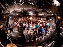 夜の本気ダンス、廃盤作品復刻を祝してバンド結成記念日に地元でワンマンライブ開催