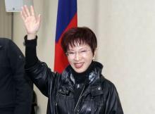 国民党主席に洪秀柱氏=親中派、初の女性-台湾
