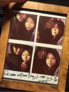 IZAMが吉岡美穂との結婚前の写真を公開し感慨深げ