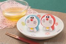 可愛すぎて食べられない!和菓子「食べマス ドラえもん」2種登場